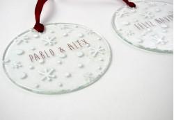 Bolas de navidad pequeña