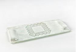 Bandeja plana rectangular